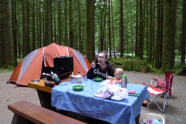 Camping at Golden Ears