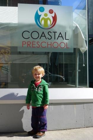 Alexander started pre school in September