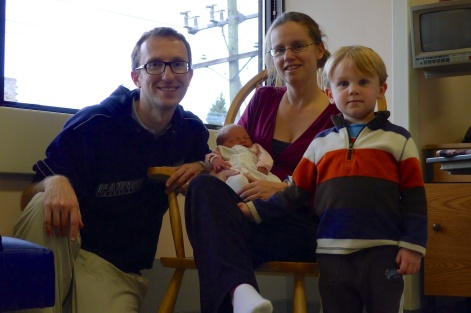 All of us, at the hospital